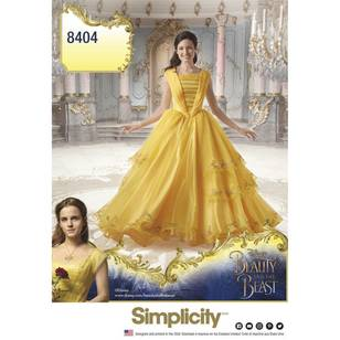 Simplicity Pattern 8404 Disney Beauty & the Beast Costume