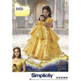 Simplicity Pattern 8405 Disney Beauty & the Beast Costume