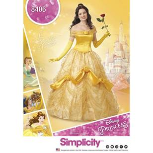 Simplicity Pattern 8406 Disney Beauty & the Beast Costume