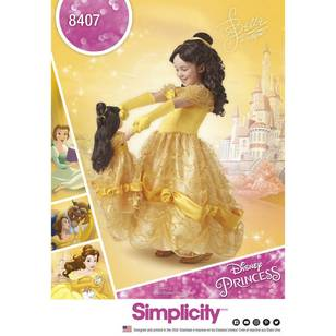 Simplicity Pattern 8407 Disney Beauty & the Beast Costume