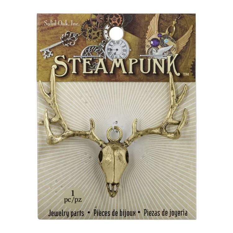 Steampunk Elk Skull