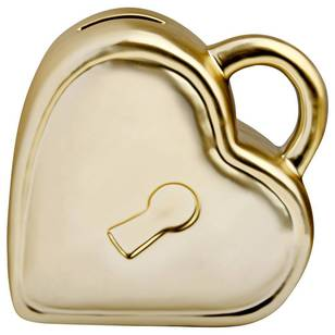 Bouclair Shiny Heart Lock