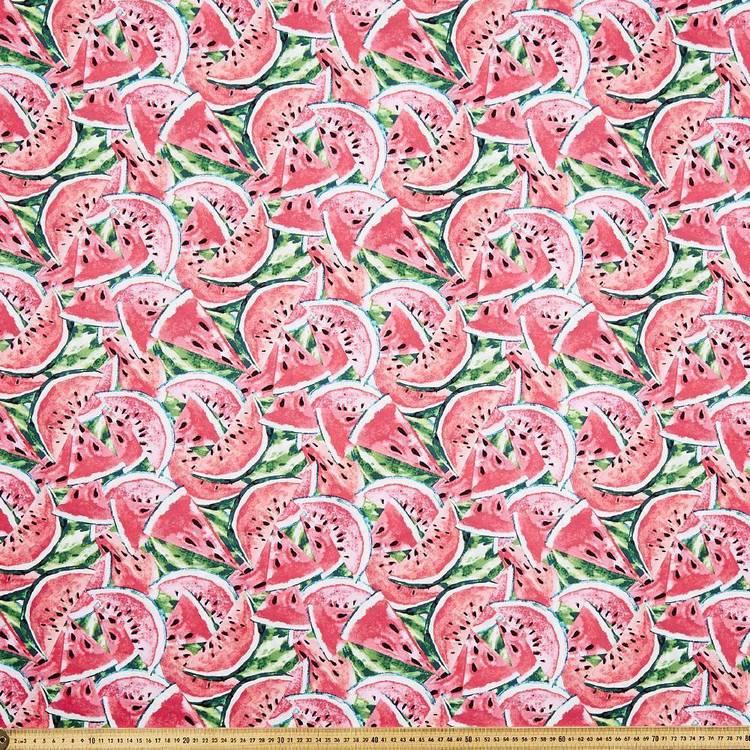 Watermelon Printed Poplin