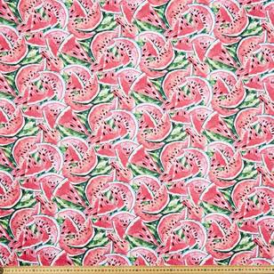 Watermelon Printed Poplin