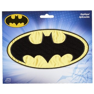 Simplicity Applique Iron on Batman Logo Motif