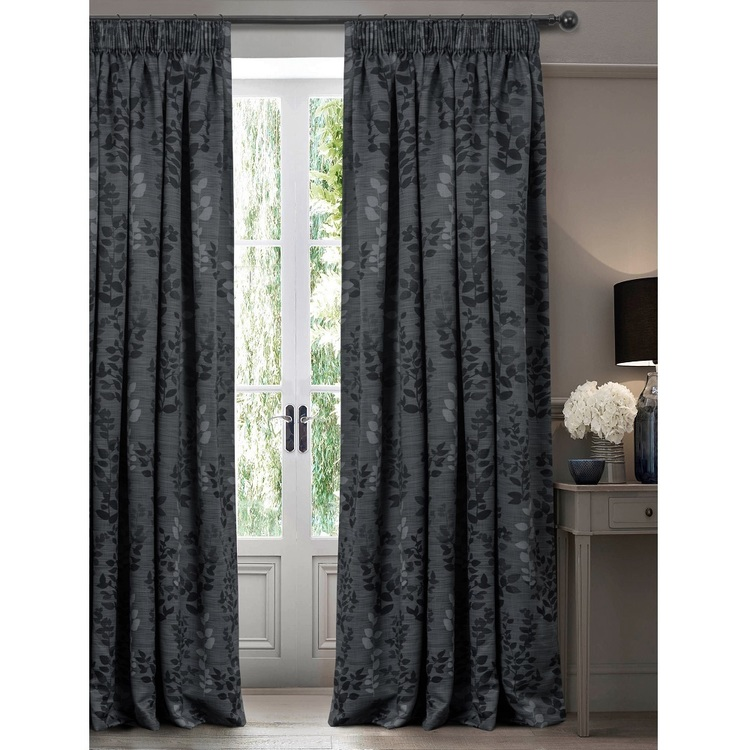 Caprice Melody Triple-weave Pencil Pleat Curtain