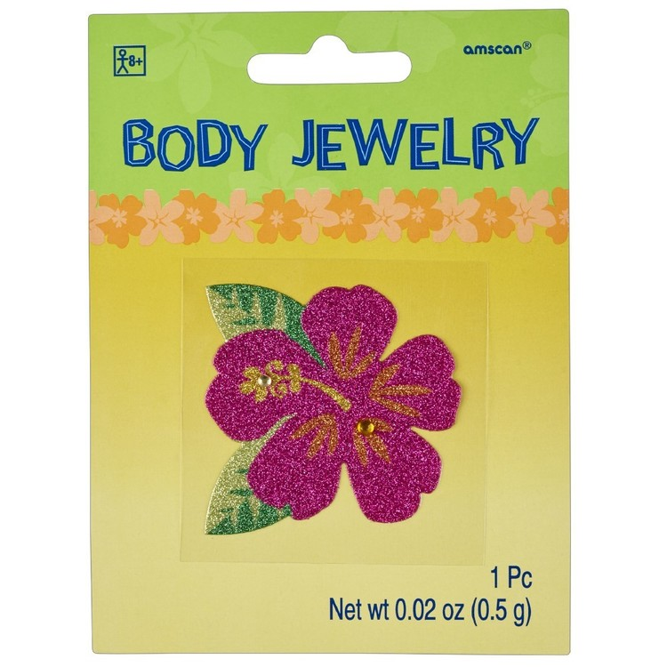 Amscan Summer Glitter Body Jewelry
