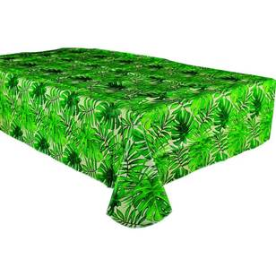 Amscan Island Palms Flannel Backed Tablecover