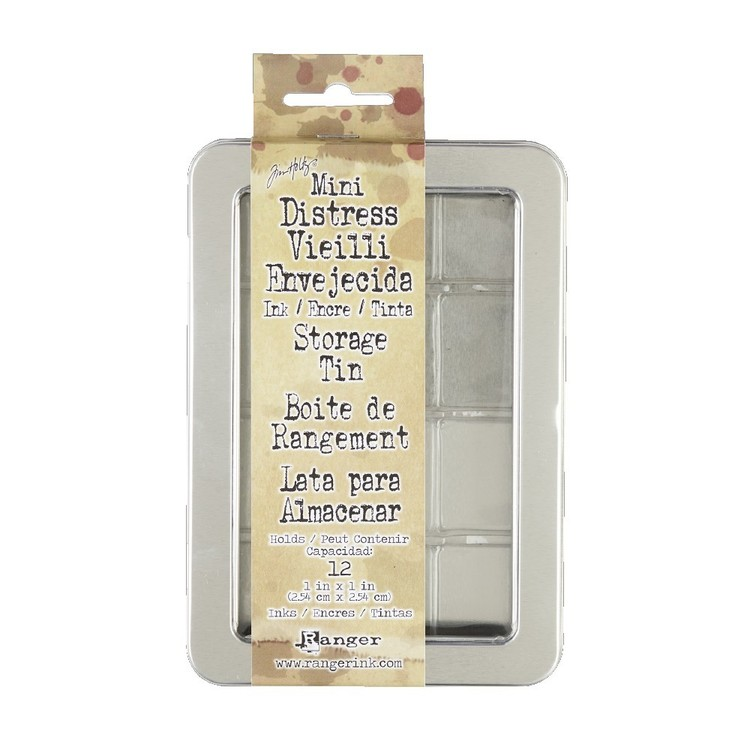 Ranger Tim Holtz Mini Distress Ink Storage Tin