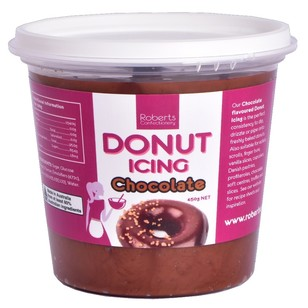 Roberts Confectionery Donut Chocolate Icing