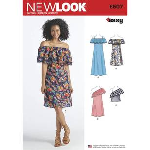 New Look 6507 Misses' Dresses and Top
