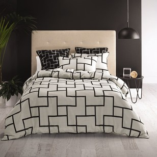 Mod By Linen House Darcie Quilt Cover Set