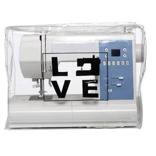 Love Sewing Machine Dustcover - Everyday Bargain