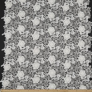CCL 3D Guipure Allover Fabric