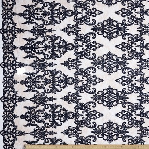 CCL Embroidered Allover Lace Fabric