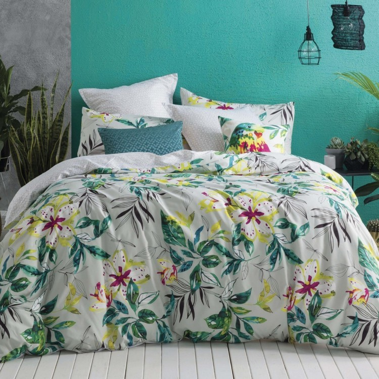 KS Studio Evelyn Quilt Cover Set Multicoloured