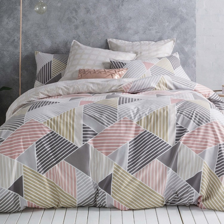 KS Studio Slice Quilt Cover Set Multicoloured