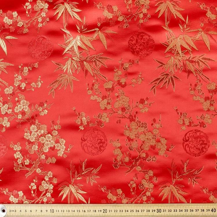 6 Oriental Brocades Fabric