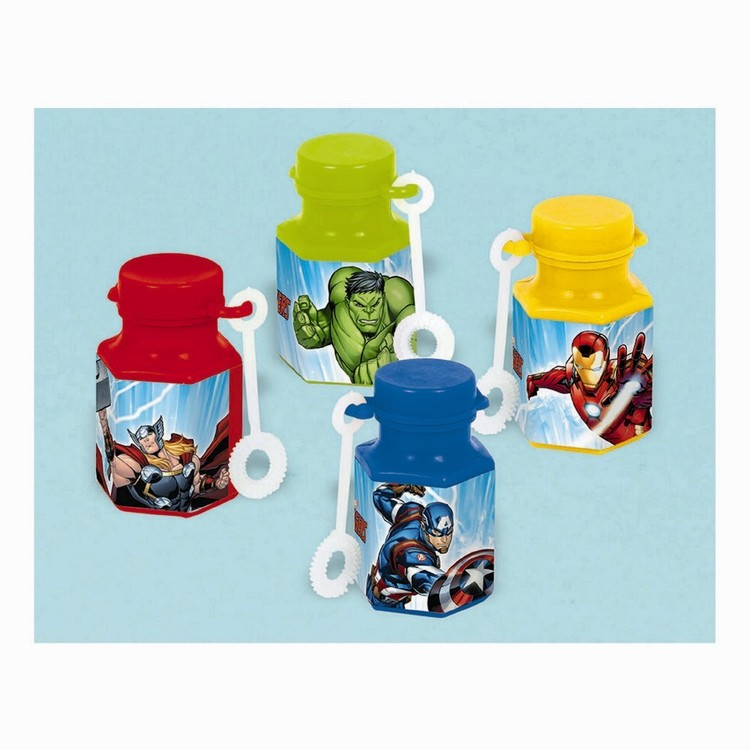 Epic Avengers Assemble Mini Bubble Favours 12 Pack