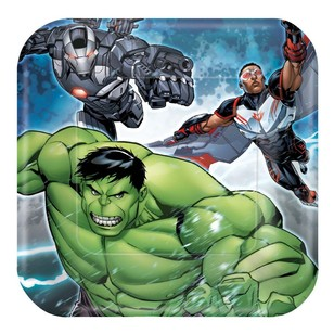 Epic Avengers Square Plates 8 Pack