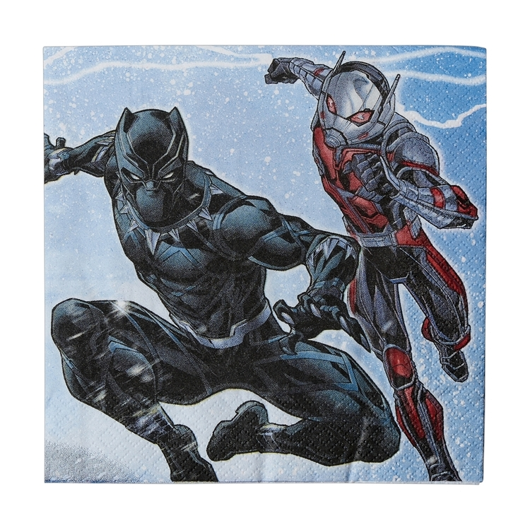 Amscan Avengers Assemble Lunch Napkins 16 Pack