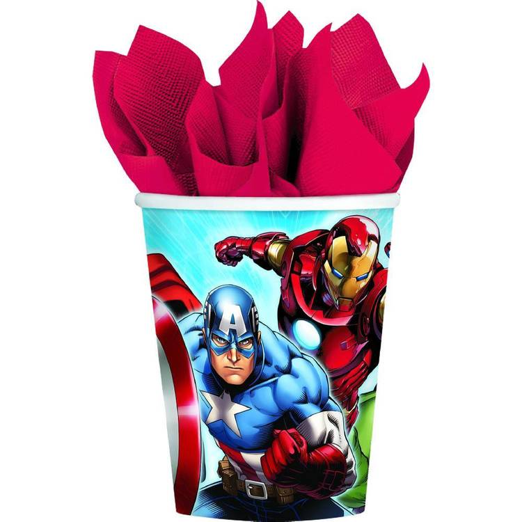 Amscan Avengers Assemble Cups 8 Pack