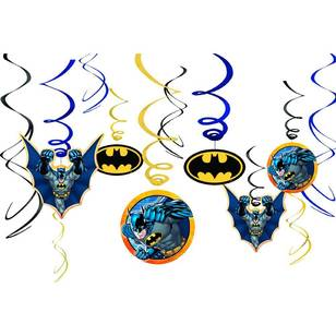 Batman Swirl Value Pack 12 Pack
