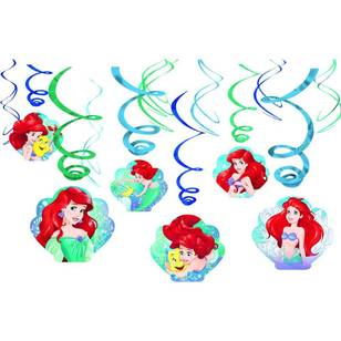 Amscan Disney Dream Big Ariel Swirl Value Pack 12 Pack