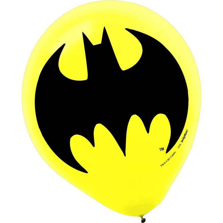 Batman Latex Balloons 6 Pack