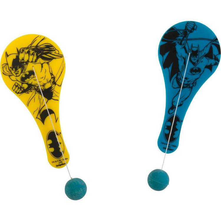 Batman Paddle Ball Favours 12 Pack