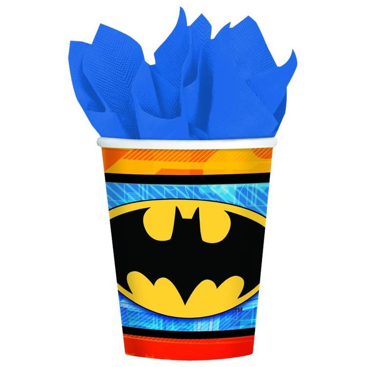 Batman Cups 8 Pack