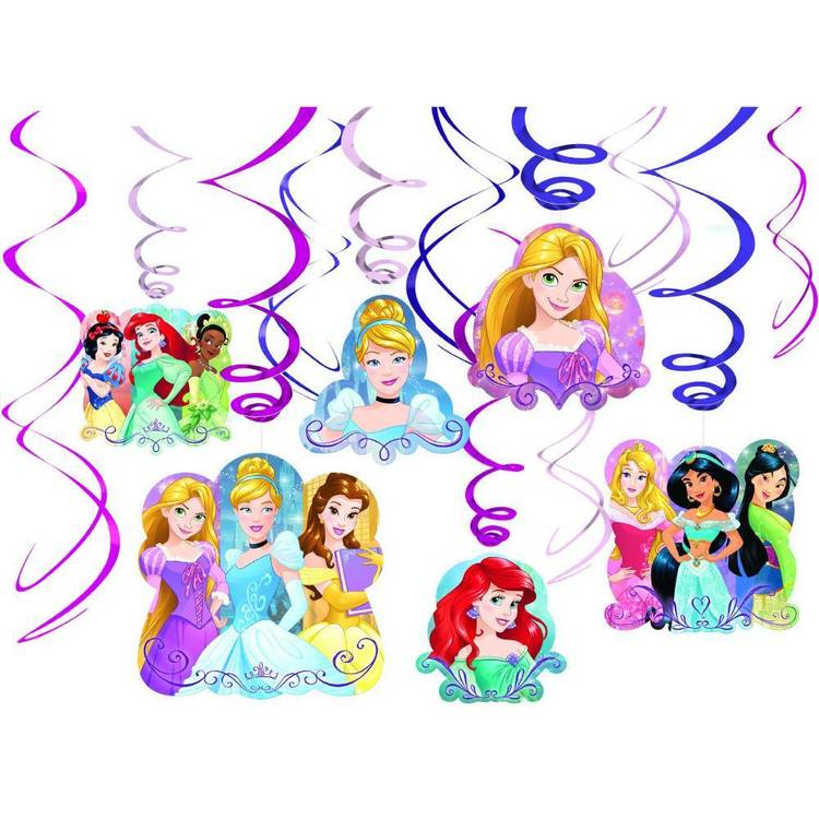 Disney Princess Dream Big Princess Swirl 12 Pack
