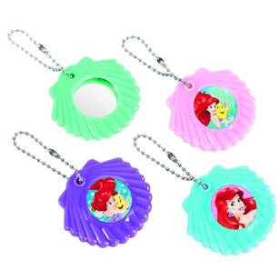 Amscan Disney Dream Big Ariel Mirror Keychain favours 12 Pack