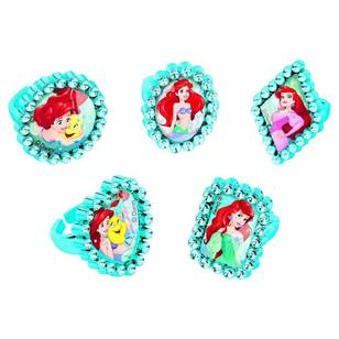 Amscan Disney Dream Big Ariel Jewel Ring Favours 18 Pack