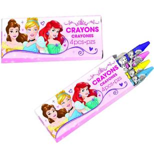 Disney Princess Dream Big Princess Mini Crayon favours 12 Pack