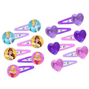 Disney Princess Dream Big Princess Hair Clip favours 12 Pack