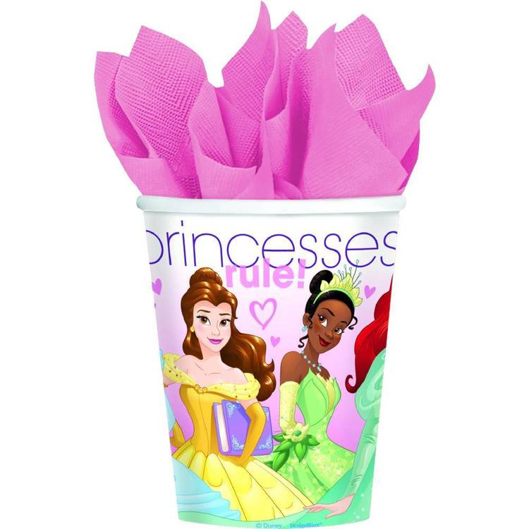Disney Princess Cups 8 Pack