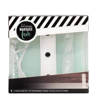Heidi Swapp Marquee 4 Inch Letter I String Light Kit