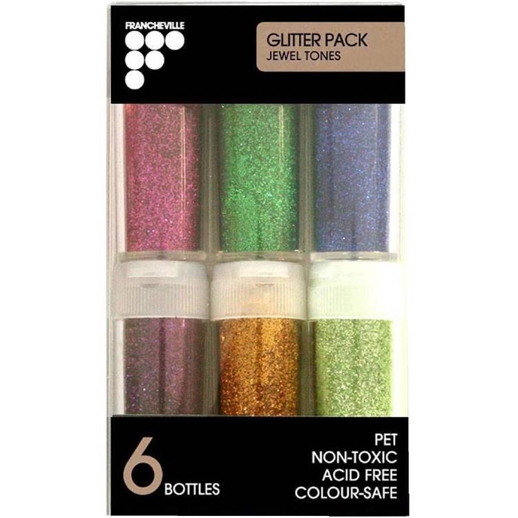 Francheville Glitter Jewel Tones Pack