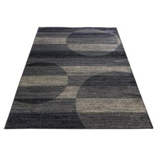 Stripe Circle Heatset Rug