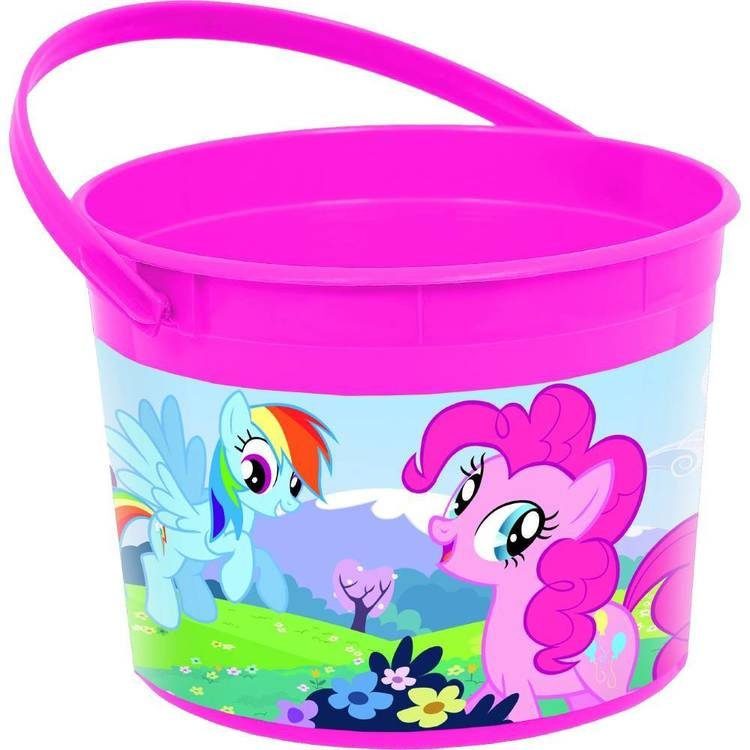 My Little Pony Friendship Favor Container