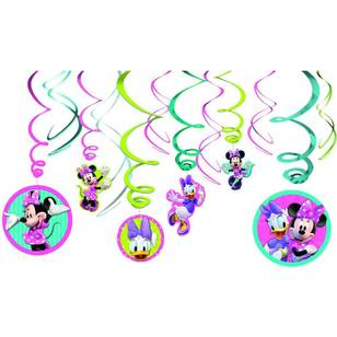 Amscan Minnie Bowtique Swirl Value Pack 12 Pack