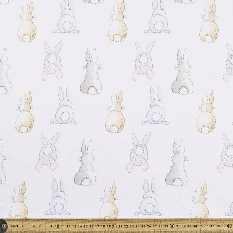 Cotton Tail Printed Flannelette Fabric