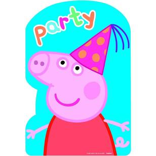 Peppa Pig Postcard Invitations 8 Pack