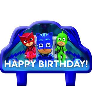 PJ Masks Birthday Candle Set 4 Pack