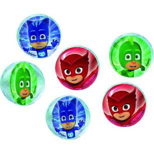 PJ Masks Bounce Ball Favours 6 Pack