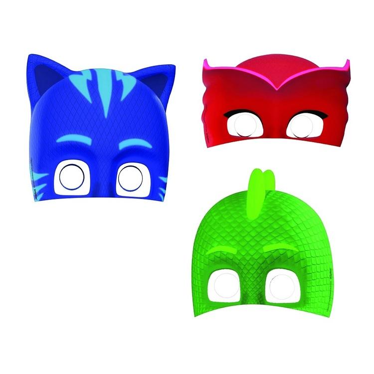 PJ Masks Paper Masks 8 Pack