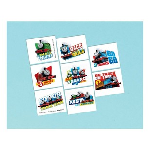 All Aboard Thomas Tattoo Favours 8 Pack