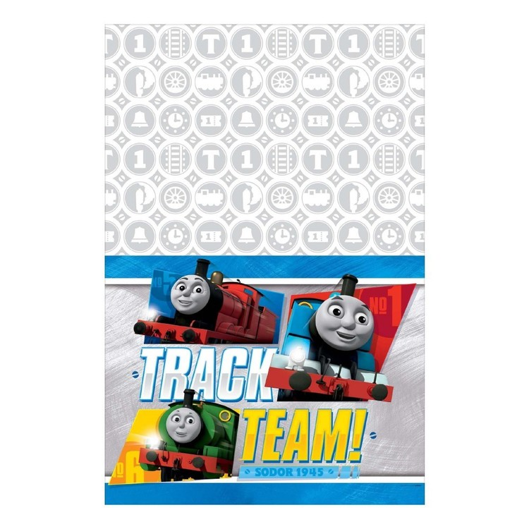 All Aboard Thomas Table cover