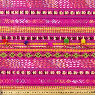 Huayas Mexican Poncho Fabric